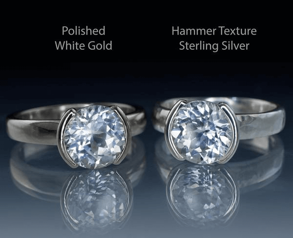 Stainless steel vs sterling silver.